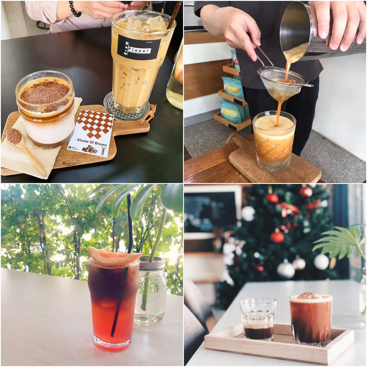 Brewplanet  coffee specialty ร้านดีประจำขอนแก่น กาแฟหอมเข้มข้นมีเมนูหลากหลาย บาริสต้าก็แนะนำดีมากต้องห้ามพลาด